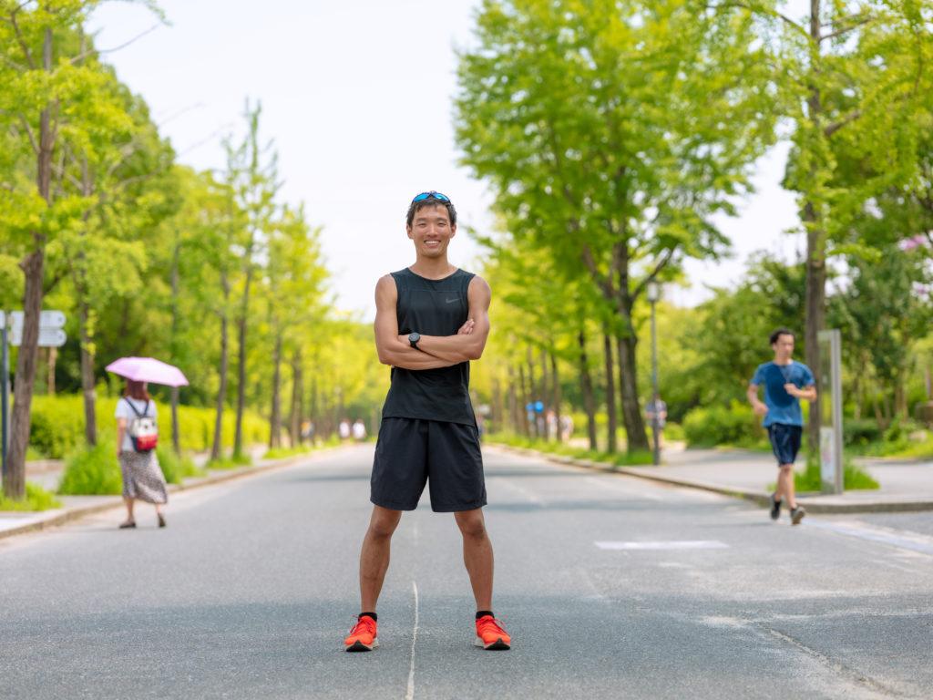 マラソンランナー専門トレーニング指導者の高山さん